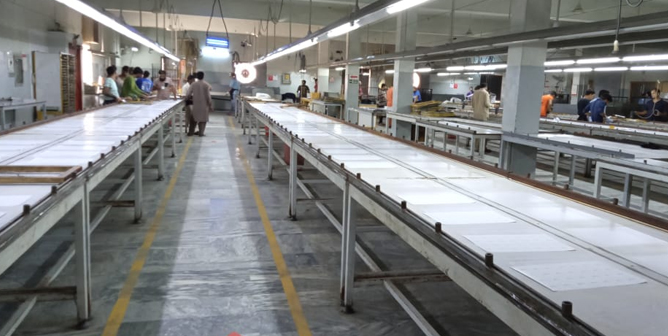 Town Crier Printing & Packaging Company Pakistan - Services - production line