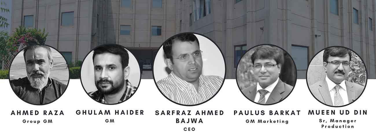 Town Crier Pvt Ltd - Printing Press Pakistan Team